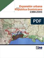 Expansion Urbana en la Republica dominicana