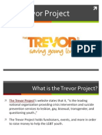 About The Trevor Project, An LGBTQ Youth Program with Donations from People Such As Daniel Radcliffe, Katy Perry, and Kenneth Mehlman