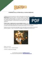 Itinerario sulla storia della cucina veneziana