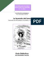 Leyenda Del Beso y Partitura