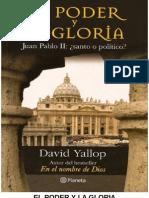 David Yalop El Poder y La Gloria