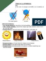 la energia. tema de 5º de cono anaya