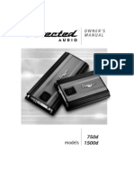 Directed 750d - user manual