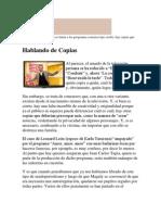 Hablando de Copias. Por Patricia Salinas