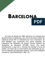 Barcelona Urbanismo II