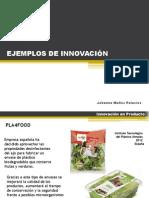 Ejemplos de Innovacion 2010 - 2012