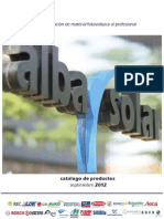 Catalogo Albasolar 2012