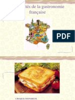 Spécialités de la gastronomie française