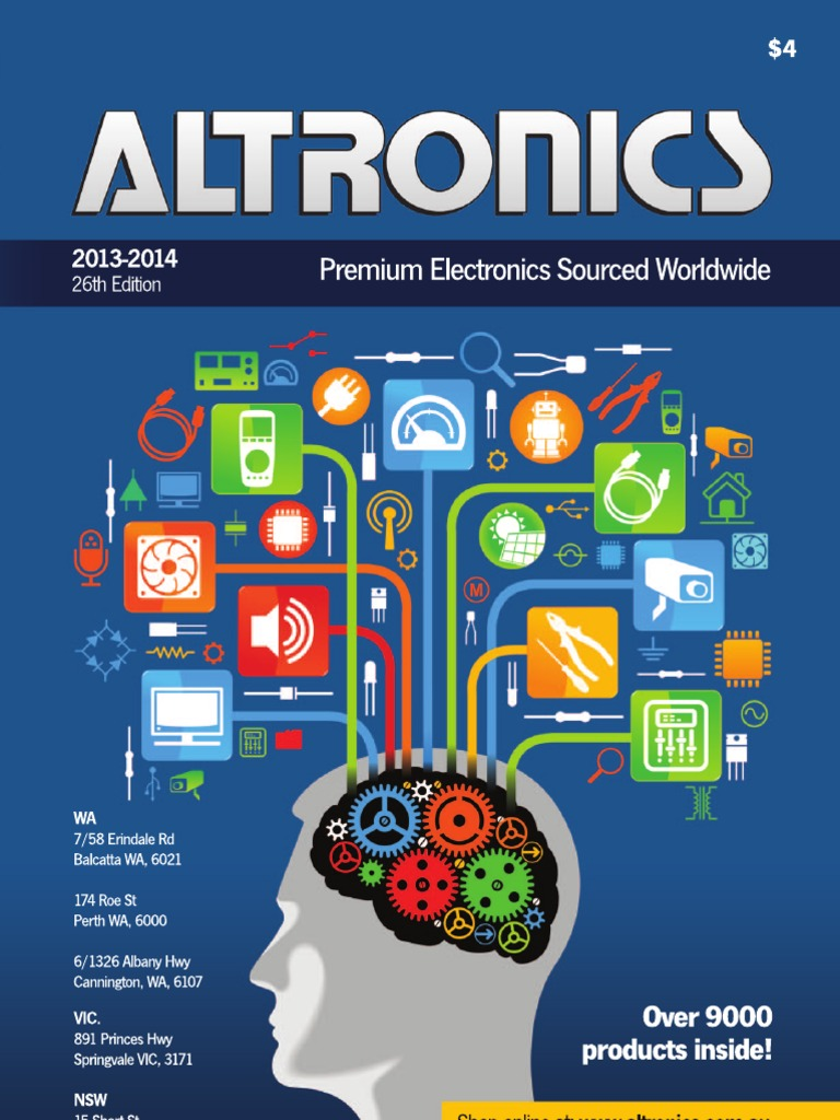 Altronics Catalogue 2013-14 | Hdmi | Video