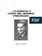 33704312 HANS J EYSENCK Decadencia y Caida Del Imperio Freudiano