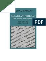 Griego William Barclay