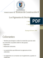 Colorantes & Disolventes