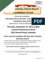 2012 Berkeley School Board Candidates Forum_fin