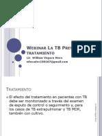 Webinar La TB Prevenciòn y tratamiento