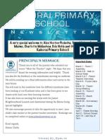 February 22 Newsletter 2013
