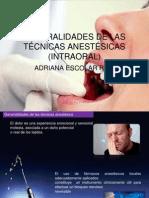 tecnicas de anestesia.ppt