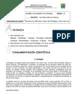 10. Guia 1. Biologia y Ciencia