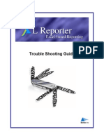 94490885 XL Reporter Trouble Shooting Guide