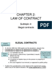 CHAPTER 2 Law of Contract Subtopic 4