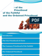 The Unity of the Priesthood