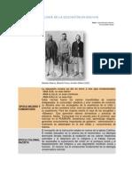 Artóculo - Cronología de la Educación Boliviana - Educabolivia