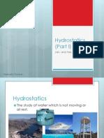 201301 Hydrostatics