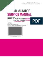 ServiceManuals LG Monitor L3020AL L3020AL Service Manual