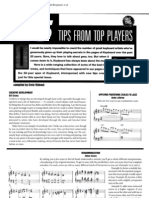 25 Tips From Top Keyboard Players