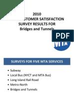 BT Customer Satisfaction Survey