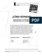 Pi-re01 Reparar Madera
