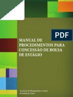 Manual de Procedimentos Para Concessao de Bolsa de Estagio