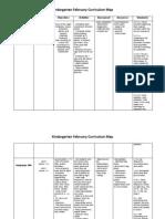 February Curriculum Map