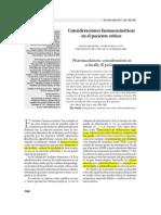 Farmacocinética en pacientes críticos Artículo Científico