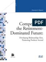 Competing in the Retirement Dominated Future