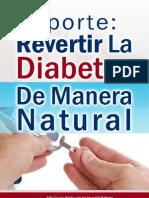 Reporte Revertir La Diabetes de Manera Natural | Descargar Gratis Revertir La Diabetes Pdf