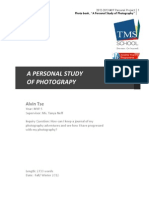 MYP Personal Project Report