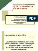 d Prospectiva Institucional