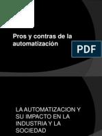 Pros de Automatizacion