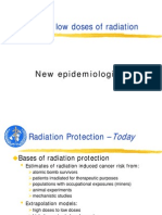 Effects of Low Dose Radiation