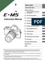 Olympus Omd E-M5 Manual