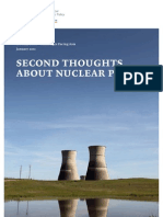 Second Thoughts About Nuclear Power