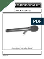 Ak-710fm Mikrof