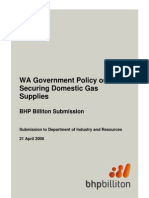 BHPB Gas Reservation Submission Final April 21