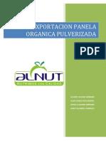 Exportacion Panela Organica Pulverizada