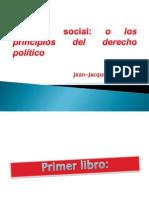 Contrato Social - Juan Jacobo Rousseau - EXPOSICION