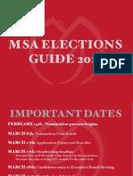 Msa Elections Guide