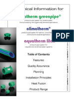 Aquatherm PEX supplies
