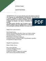 Temario Historia III