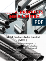 Metal Products India Limited
