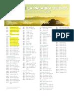 LECTURAS BÍBLICAS 2013